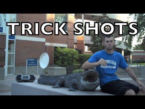 Frisbee-Trickshots