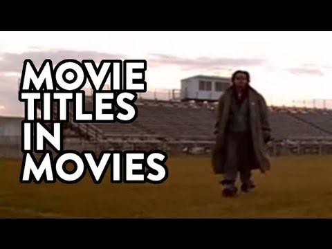 Supcercut: Filmtitel im Film selbst
