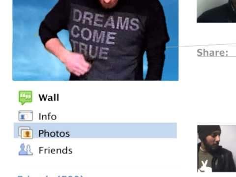 musikalisches Facebook-Profil