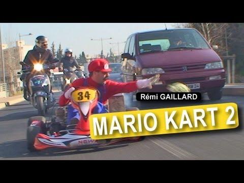 Real Life Super Mario Kart by Rémi Gaillard