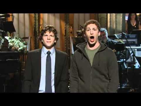 Mark Zuckerberg trifft Jesse Eisenberg
