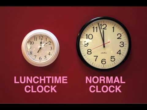 1 Stunde Mittagspause = 72 Minuten