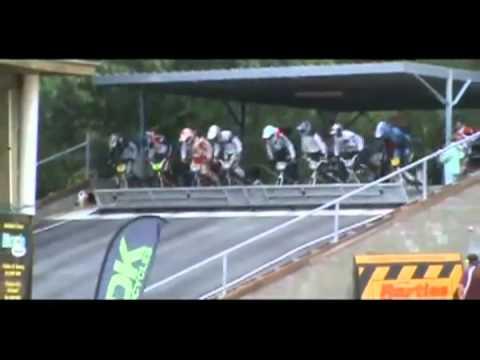 Perfekter Start beim BMX-Rennen