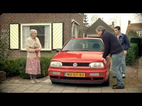 Volkswagen Werbung mit rasanter Oma