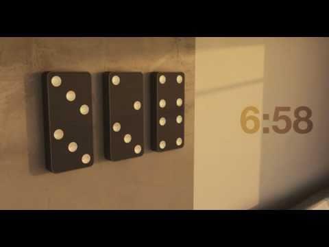 Die Domino-Uhr