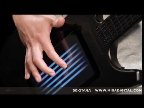 Saitenlose Touchscreen Gitarre
