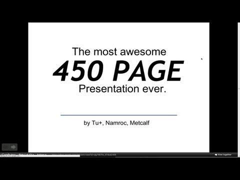 Awesome Google Docs Präsentation