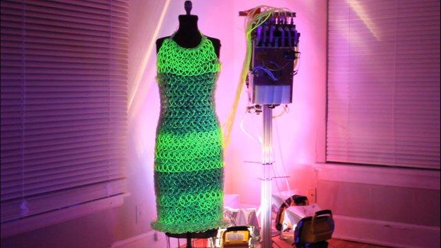 Das flüssige Kleid