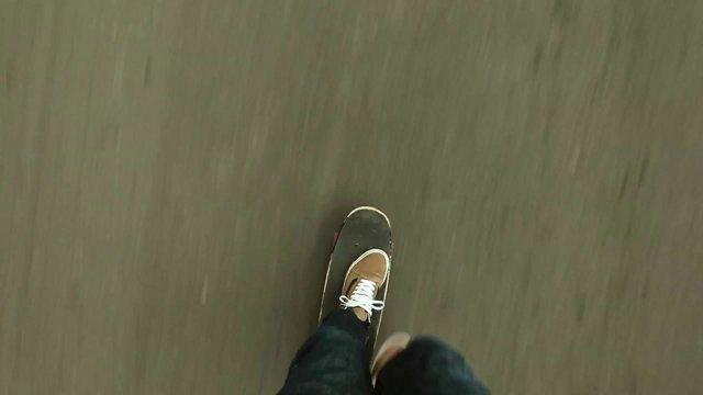 In der Ego Perspektive durch New York skaten