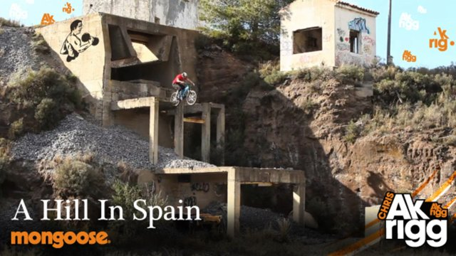 BMX-Tricks in Spanien: Chris Akrigg