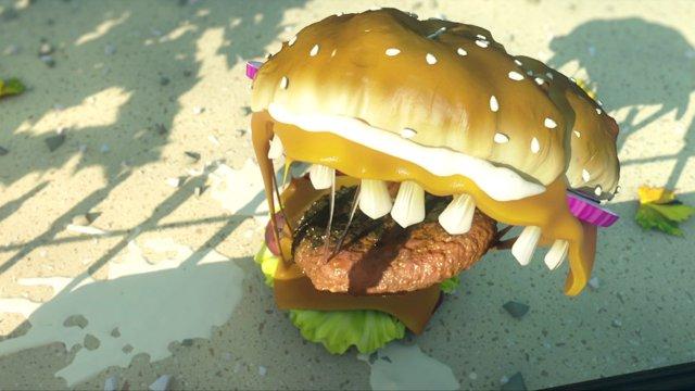 Animated Short: Die blutige Rache des Fastfoods