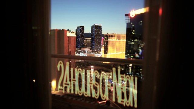 Time-Lapse von Las Vegas