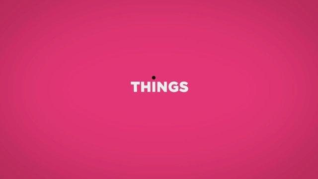 Klein aber fein: Things