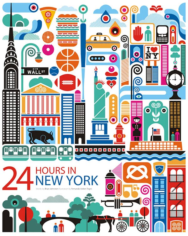 Illustration: 24 hours in …