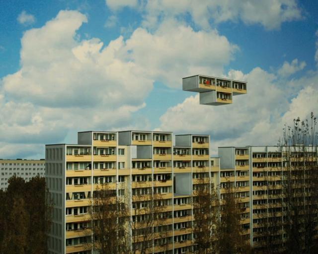 Berliner Plattenbau Tetris
