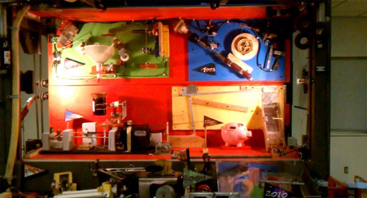 Weltrekord: Rube Goldberg Machine mit 300 Schritten