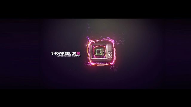 Showreel 2010: Romain Loubersanes