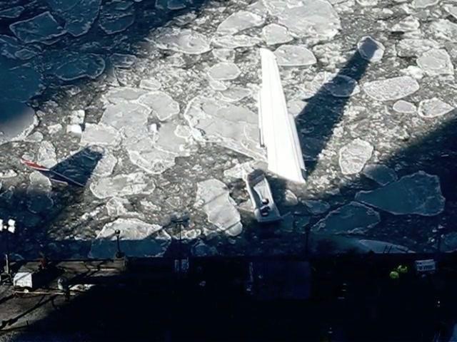 Timelapse-Bergung des Hudson-Fliegers