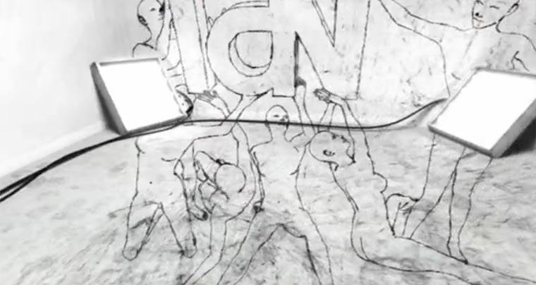 Großartige 3D-Wandmalerei von Punx Sthlm