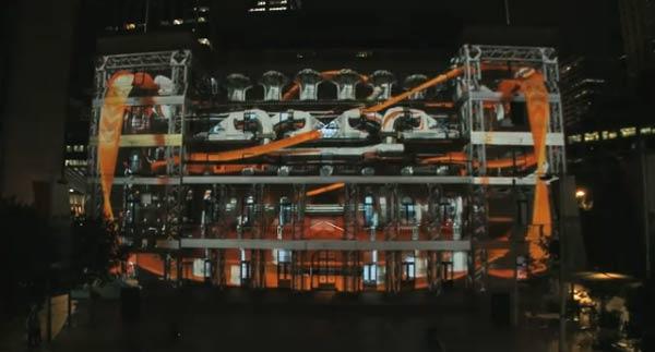 3D-Projektion: Hot Wheels Secret Race Battle