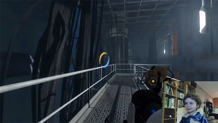 3-Jährige vs. Portal 2