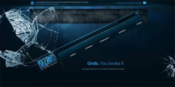 25 kreative 404-Seiten