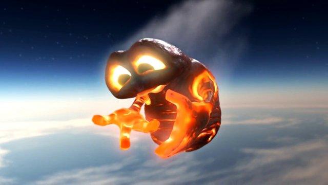 Der Absturz eines Meteoriten