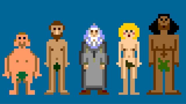 Schöpfungsgeschichte – The 8-Bit-Game