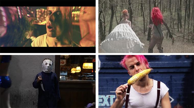4 Bonaparte Musikvideos