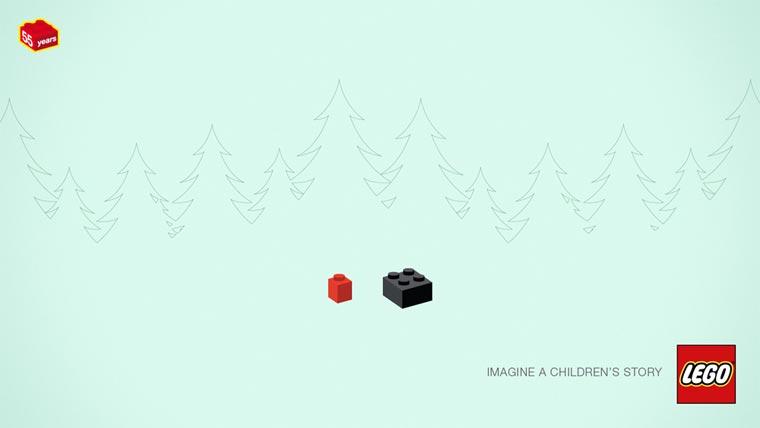 minimalistische LEGO-Rätsel