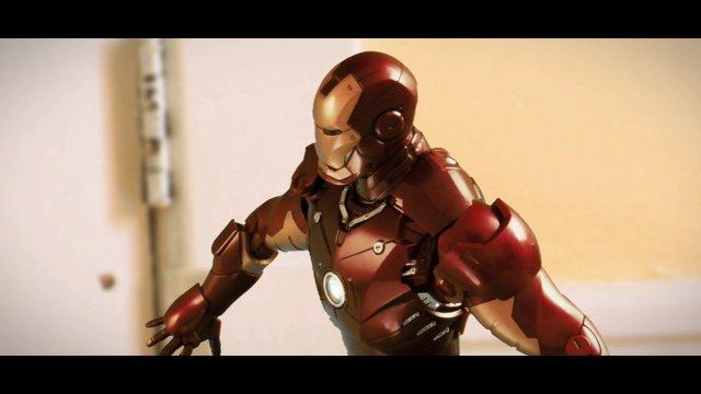 Iron Man vs. Bruce Lee