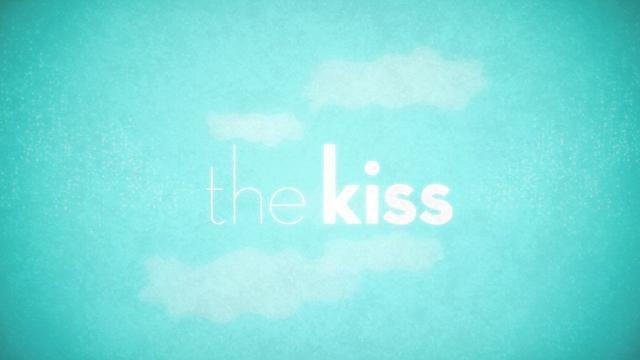Visuelle Infografik über Küsse