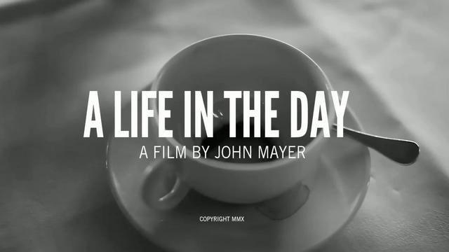 Ein Tag von John Mayer