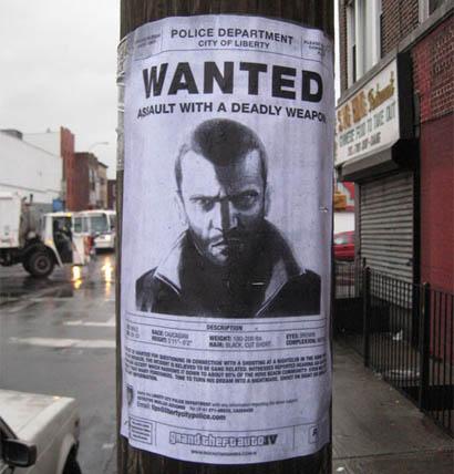 GTA IV Werbung
