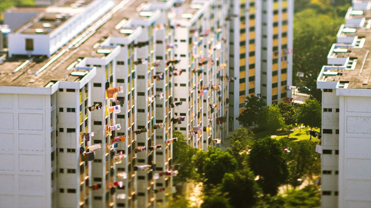 Tilt Shift: Singapur