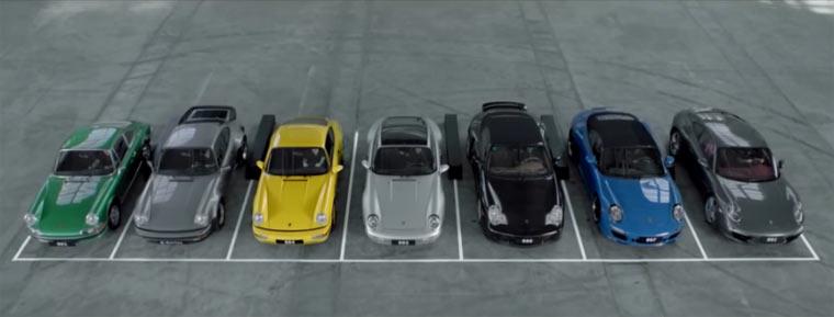 911er singen Porsche ein Ständchen