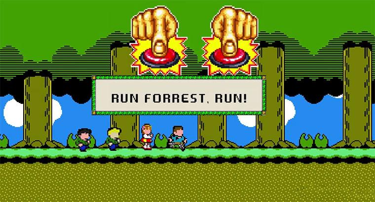 8-Bit Cinema: Forrest Gump