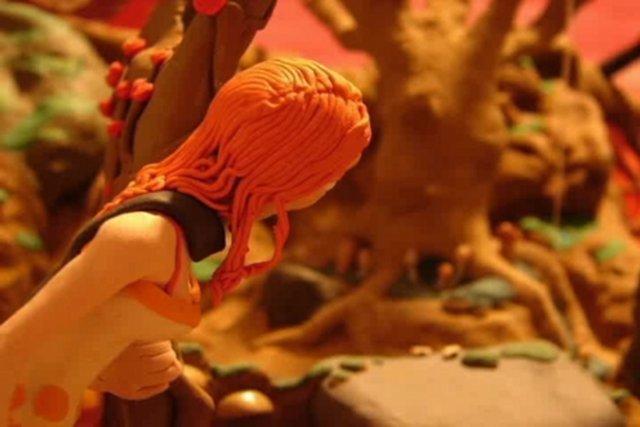 Alice in Wonderland in Knet-Stop-Motion