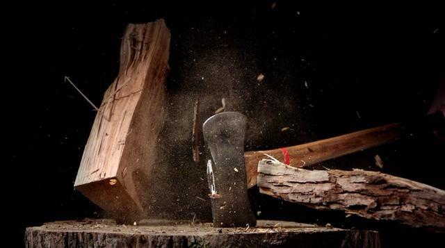 Reverse Holzhackslowmotion