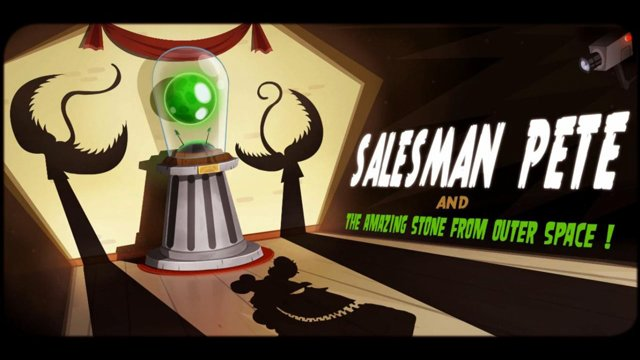 Salesman Pete and the Amazing Stone