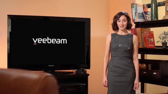 Veebeam: drahtlose Verbindung von PC & TV