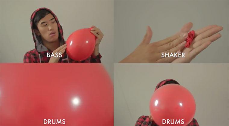 99 Luftballons spielen 99 Luftballons
