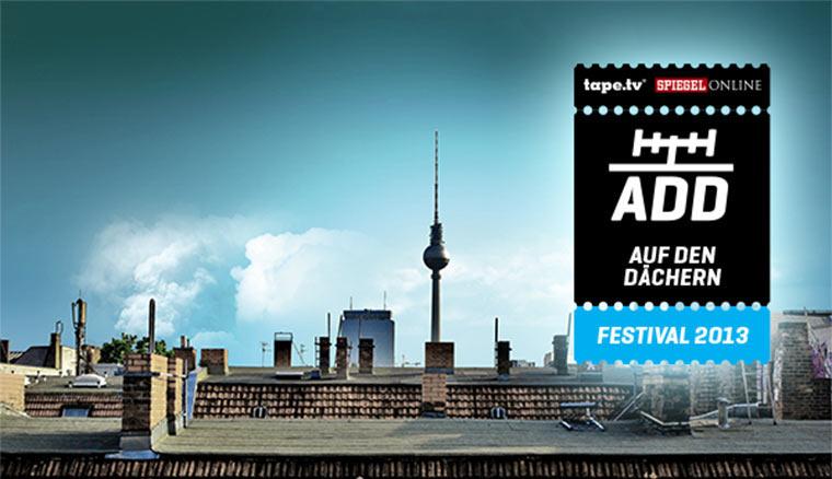 1×2 Tickets für das Auf Den Dächern-Festival!