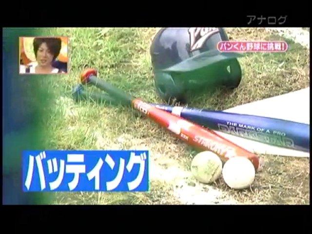 Baseballspielender Schimpanse