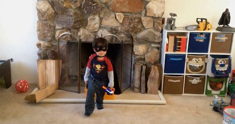 Action Movie Kid James