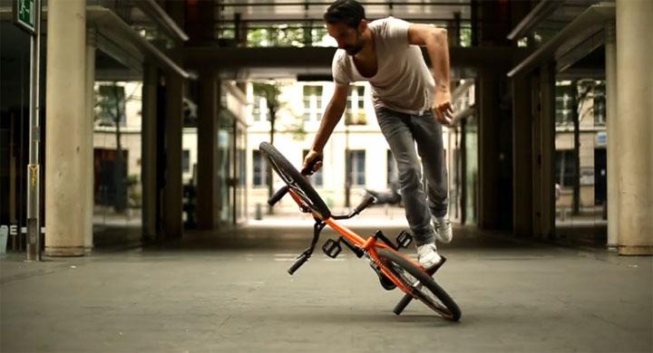 BMX Flat Tricks: Alain Massabova
