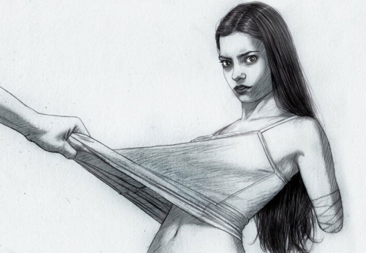 Zeichnungen von Alex Rodriguez