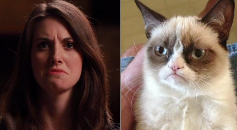 Alison Brie imitiert Internet Memes