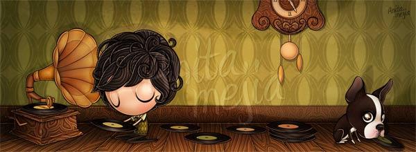 zuckersüße Illustrationen: Anita Mejía