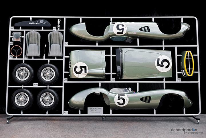 1:1 Modellbau des Evanta Aston Martin DBR1